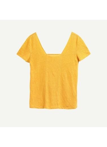 Yargıcı Tişört Sarı